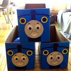 Easy Thomas Cake and train party   Working Mom Cook Fusion