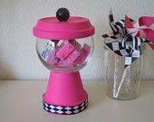 Candy Table Wedding decor Faux Gumball Machine (Custom Orders Welcomed)