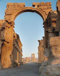 Arch of Hadrian, Palmyra