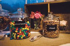 Clever snack wedding idea - Rebecca Hirsch and Devin Leisher - Bethesda Magazine - September-October 2016 - Bethesda, MD