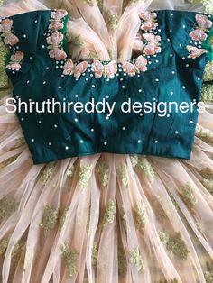 Kids Blouse Designs, Hand Work Blouse Design, Simple Blouse Designs, Stylish Blouse Design, Fancy Blouse Designs, Wedding Saree Blouse Designs, Half Saree Designs, Long Dress Design, Sarees