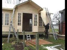 How to build your log cabin - Keops Interlock Log Cabins