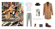"""""""Без названия #192"""" by elza-cat on Polyvore featuring мода, Entre Amis, River Island, Brooks Brothers, Clinique и Bally"""