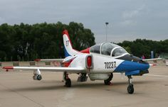 TheJL-8(K-8) is a basic jet trainer which was jointly developed by Hongdu Aviation Industry Group (HAIG) and Pakistan Aeronautical Complex (PAC)in ordertoreplacethe old jet trainers in service in voth countries.