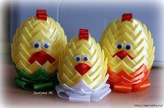Пасхальные яйца из лент в технике АРТИШОК (38) (700x465, 215Kb)