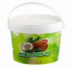 A kókuszolaj a legegészségesebb, legkönyebben használható természetes zsíradék, amellyel méreg drága szereket helyettesíthetsz.