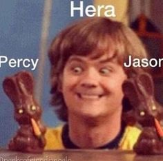 I laughed too hard at this. For those who don't understand read The Percy Jackson series by Rick Riordan