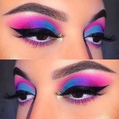 [New] The Best Eye Makeup Ideas Today (with Pictures) - These are the best eye makeup ideas today (with pictures). According to eye makeup. Makeup Eye Looks, Eye Makeup Art, Crazy Makeup, Eyeshadow Makeup, Eyeshadows, Bright Eyeshadow, Makeup Artistry, Colorful Eyeshadow, Beauty Makeup
