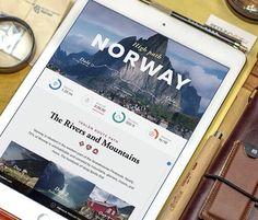 Travel app by Inkration Studio