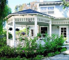 gazebo-like porch on the end of a deck...can be screened in too!