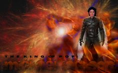 Michael Jackson wallpaper. I don't know who made this, but he's an winged Xmen! How Cool!