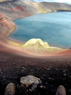 Colorful Icelandic Montains
