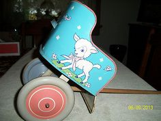Ohio Art Co Vintage Doll's Buggy