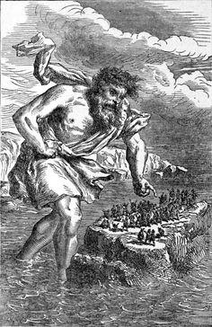 """Nefilim, do hebraico que significa """"aqueles que cairam do ceu"""". Deriva da forma causativa do verbo na·fál ou nefal (fazer cair; cortar), conforme encontrado, por exemplo, na Bíblia em 2 Reis 3:19; 19:7. Traz uma idéia de dividido, falho, queda, perdido, mentiroso. Literalmente """"os que fazem os outros cair"""". No Dicionário de Strong são chamados de """"tiranos"""". Em Aramaico Nephila designa a constelação de Orion"""