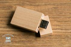 Bois/bois Chubby USB Flash Drive 4 Go par PhotographerSupplyCo