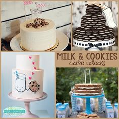 Milk and Cookies Party: Creative Cakes for a Cookie Party | Mimi's Dollhouse