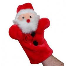 Related image Types Of Puppets, Hand Puppets, Elf, Santa, Sewing, Holiday Decor, Image, Puppets, Dressmaking
