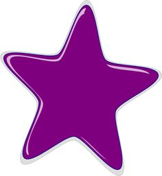 Purple star | Purple Star clip art - vector clip art online, royalty free & public ...