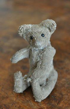 Antique Steiff miniature Teddy Bear, circa 1910