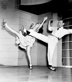 Rita Hayworth and Fred Astaire, 1942, dancing in You Were Never Lovelier