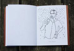 """Jon Hamm: A Colouring Book"" by Teamart"