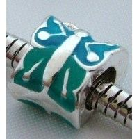 Blue Butterfly Bead $2.95 http://www.sparklyexpressions.com/#1019