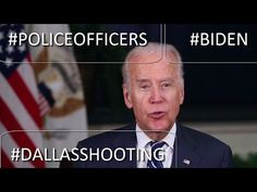 Vice President Joe Biden Paid Tribute to Dallas Police Officers Killed i...
