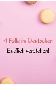 Grammatik, 4 Fälle im Deutschen, Deutsch lernen, Deutschunterricht