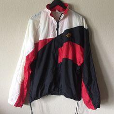 Vintage Nike Retro Windbreaker vintage Nike windbreaker, cinch waist, men's but unisex so fits oversized Nike Jackets & Coats