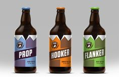 Rugby Ale Co. — The Dieline - Package Design Resource