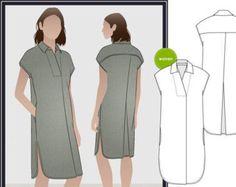 PRINTSHOP PATTERN not tiled Adeline Dress Sizes 16 18