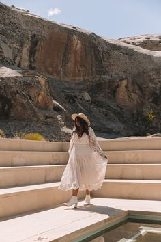 A DESERT ELOPEMENT – Spell Bohemian Wedding Inspiration, Bohemian Wedding Dresses, Bohemian Weddings, Getting Engaged, Fake Flowers, Great Friends, My Flower, First Night, Beautiful Landscapes