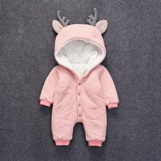 Deer-Flence Jumpsuit For Babies ⋆ DADDY CHECK THIS OUT #babyclothes #newbornclothes