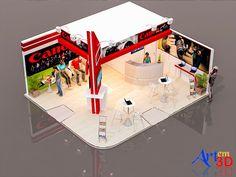 Stand Promocional III-1 - Art em 3D