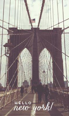 hello new york!