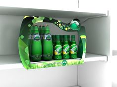 Point of Purchase Design | POP | POS | POSM | Retail Display | Perrier Glorifier by John Avilanova