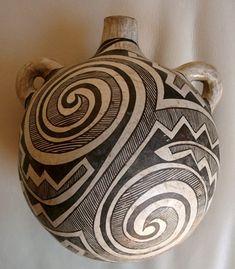 Historic Acoma pottery | Mary Histia Acoma pottery