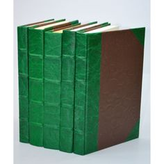 Leather Books - Green S/5
