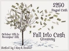 Twenty-five fabulous bloggers, authors and publishers have joined with me to offer you one fabulous giveaway - $250 in Paypal cash!