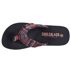 SoulCal | SoulCal Kapas Flip Flops Womens | Ladies Sandals and Flip Flops
