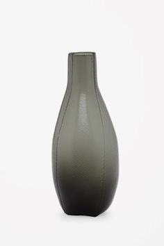 Irregular glass carafe