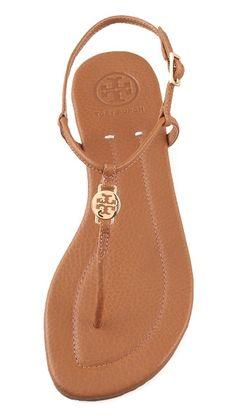 dac834624ec91d Tory Burch Emmy Flat Thong Sandals Shoes Flats Sandals