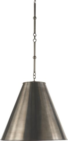 MEDIUM GOODMAN HANGING LAMP for over kitchen island