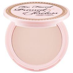 Primed & Poreless Pressed Powder - Too Faced I cannot rave enough about this powder! Matte finish, my skin looks absolutely flawless, pores disappear, super finally milled, makes your skin so soft and it's just my all time favorite product!