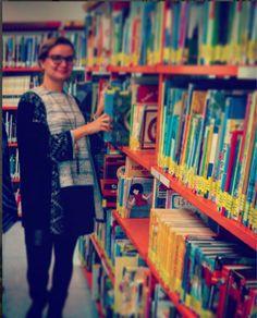 Noemí Bouza de bibliotecas Sanse Libraries