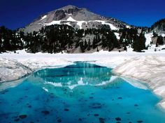 Mt. Lassen.