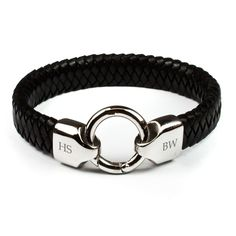 Leather Infinity Bracelet — Crafthubs