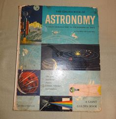 The Giant Golden Book of Astronomy Introduction to Wonders of Space 1955 Revised