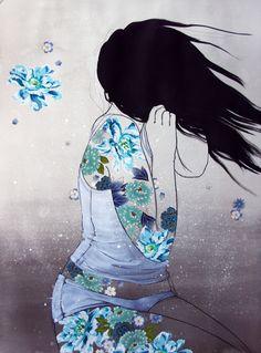 Powder Blue | Stasia Burrington Illustration