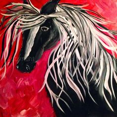 """Contemporary - """"BIG RED"""" (Original Art from KING GALLERIES)"""